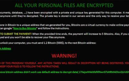 Arriva Zcrypt: il primo ransomware che si diffonde da solo