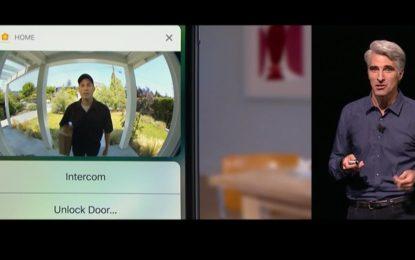 Quanta paura se la porta l'apre l'iPhone…
