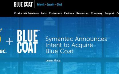 Symantec acquisisce Blue Coat per 4,65 miliardi