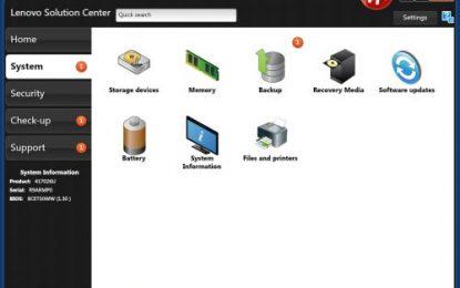 Altre falle nel Lenovo Solution Center