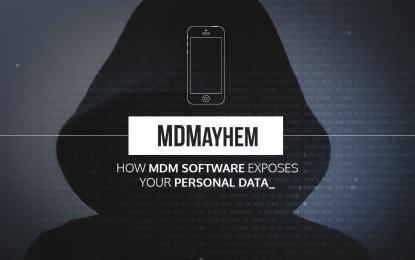 Le soluzioni per il BYOD? Una minaccia per la privacy