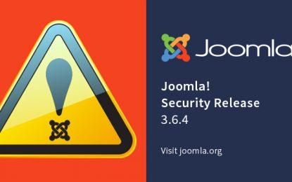 Due falle critiche per Joomla: milioni di siti vulnerabili