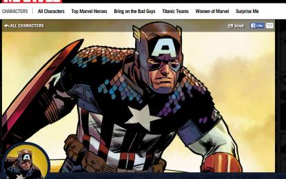 Capitan America e altri eroi Marvel hackerati da OurMine