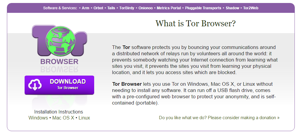 sandbox per Tor Browser