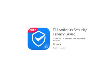 Antivirus per Android rubava informazioni dal dispositivo