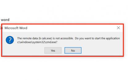 Attenzione ai documenti Office: il malware si avvia anche senza Macro