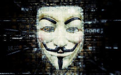 """Torna Anonymous Italia. """"Abbiamo i dati del governo"""""""