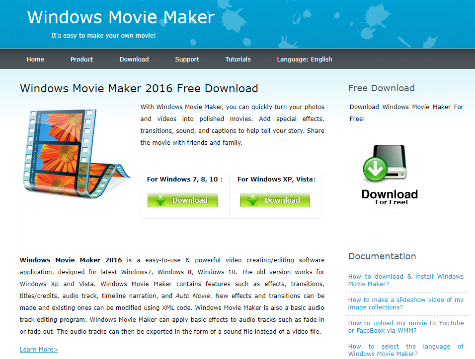 truffa Movie Maker