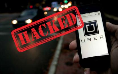 Uber hackerata nel 2016, ma ha nascosto tutto per un anno