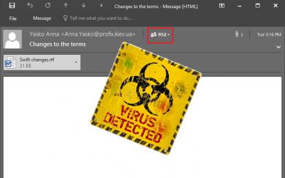 Anche i pirati informatici fanno errori di distrazione
