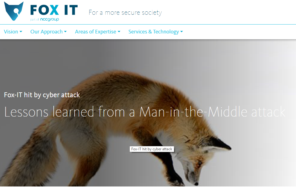 Fox-IT hacker