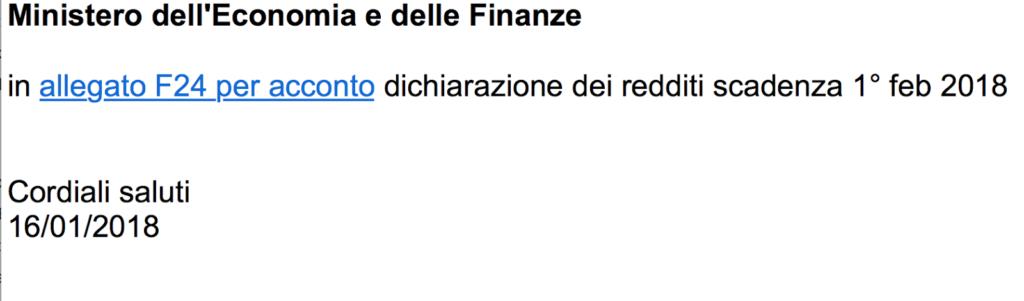 Ministero Finanze