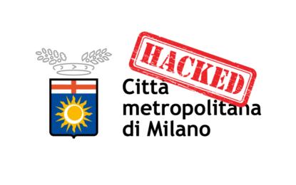 Confermato l'attacco di AnonPlus a Città Metropolitana di Milano