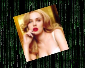 Una foto di Scarlett Johansson nel mio database? Ah, no… è un miner!