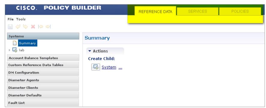 Cisco Policy Builder