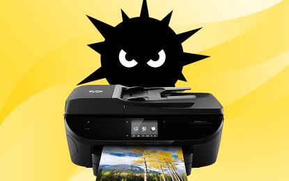 Quando il malware arriva dalla stampante