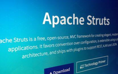 Primi attacchi ai sistemi Apache Struts