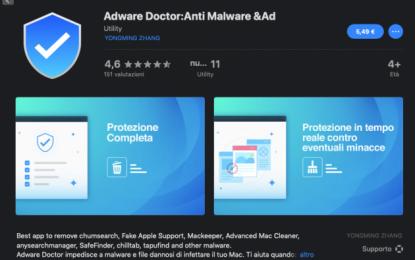 Elimina gli adware ma ruba i dati dal Mac. Apple rimuove l'app dallo store