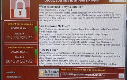 WannaCry è inattivo, ma ci sono ancora milioni di computer infetti