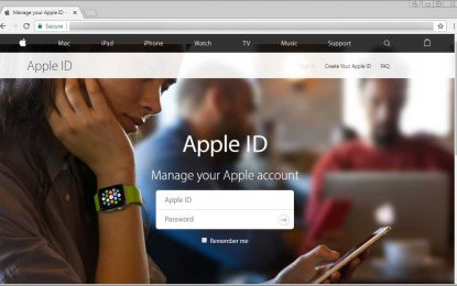 Ondata di phishing prende di mira gli utenti Apple