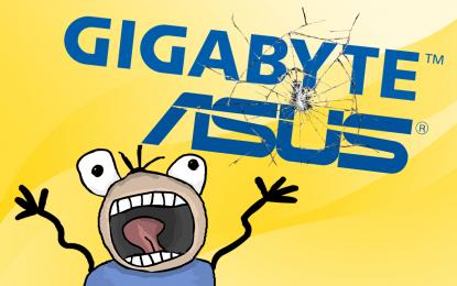Raffica di vulnerabilità nei driver Asus e Gigabyte, ma niente patch…