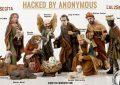 Anonymous festeggia il Natale violando i siti di ASL e ospedali