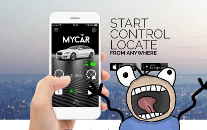 Password predefinita nell'app: migliaia di auto a rischio furto