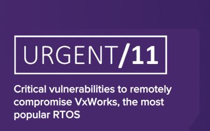 URGENT11: raffica di vulnerabilità in dispositivi SCADA e IoT