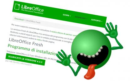LibreOffice corregge una falla ma suggerisce di usare la vecchia versione