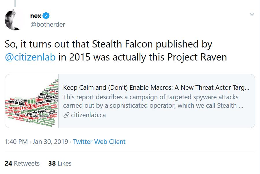 Stealth Falcon