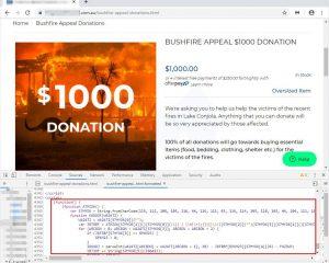 Australia: pirati attaccano un sito per la raccolta fondi contro gli incendi