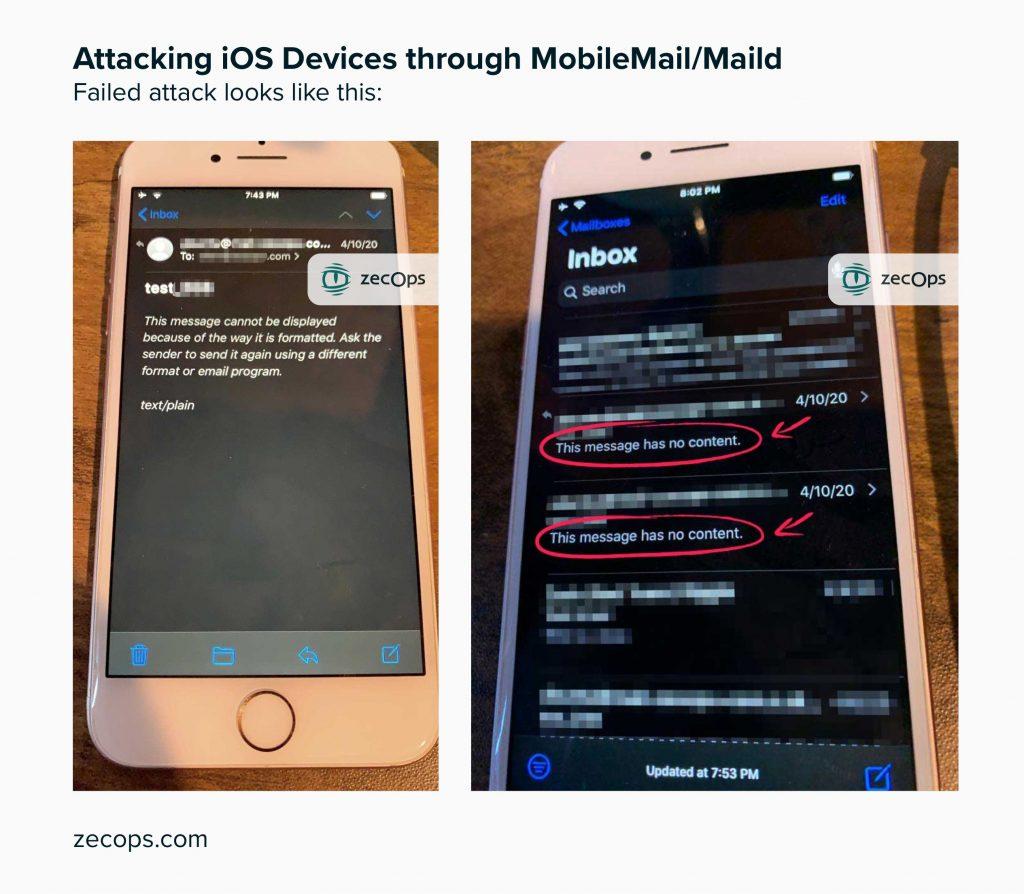 zero-day iOS