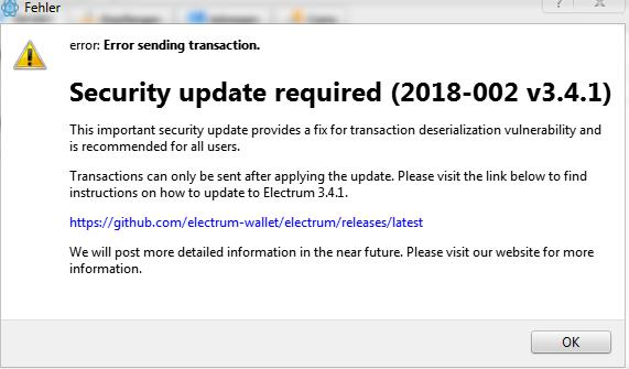 Electrum Bitcoin