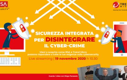 """Trend Micro e RSA Security: """"un'alleanza per contrastare il cyber crimine"""""""