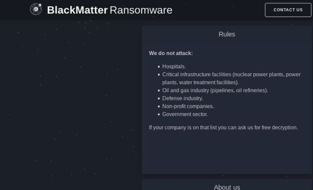 Ti presento BlackMatter. La nuova incarnazione di REvil?