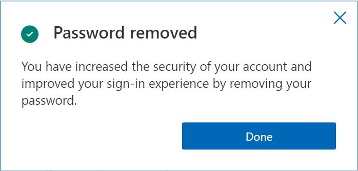 addio alla password